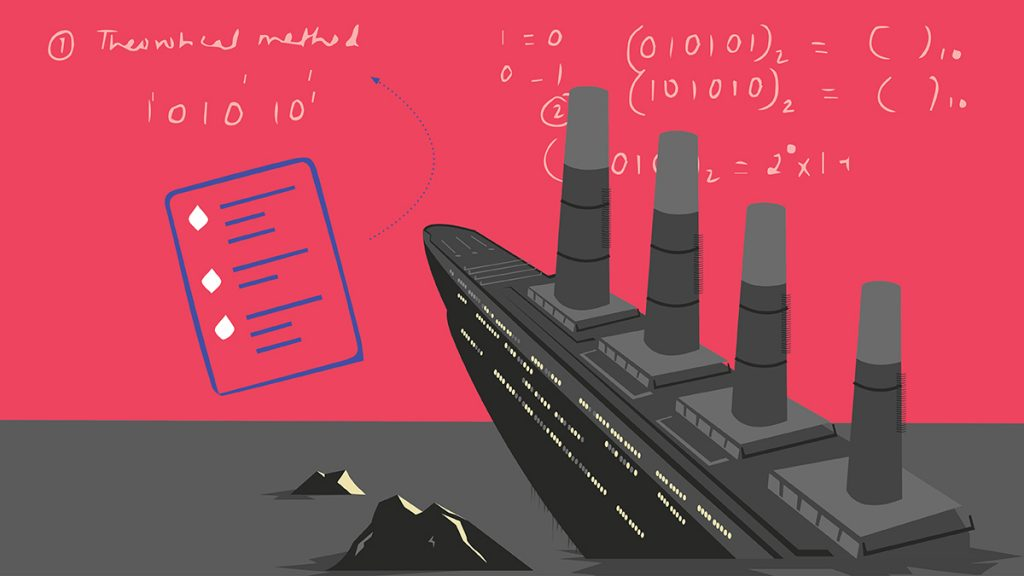 تعلم صحافة البيانات من سفينة تايتانك الغارقة